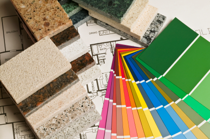 Paint chips - remodeling your home in winter