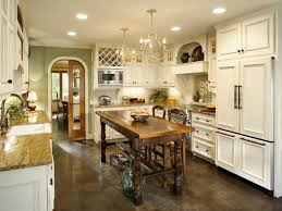 French country style kitchen