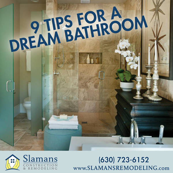 9 Tips for a Dream Bathroom